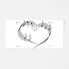 Music Lover Aluminum License Plate