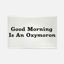 Oxymoron Rectangle Magnet
