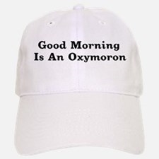 Oxymoron Baseball Baseball Cap