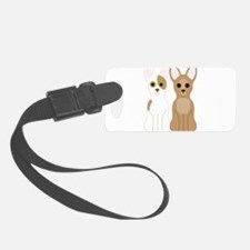 Chihuahuas Luggage Tag