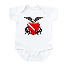 Hammerhead Crest Infant Bodysuit