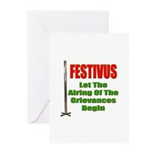 Festivus - Airing Of The Grievances Greeting Cards