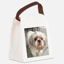 Cute Shih tzu Canvas Lunch Bag