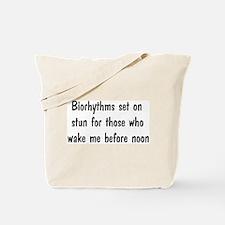 Night Person Tote Bag