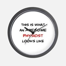 awesome physicist Wall Clock