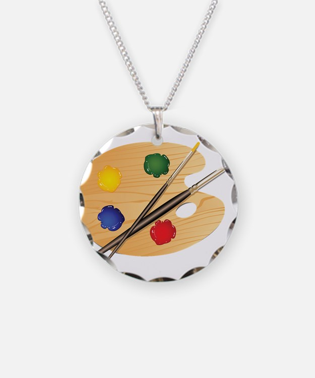 Artist Palette Necklace