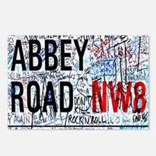 Cute Abbey road Postcards (Package of 8)