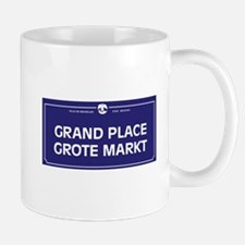 Grand Place, Brussels, Belgium Mug