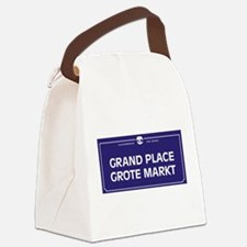 Grand Place, Brussels, Belgium Canvas Lunch Bag