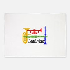 Band Mom 5'x7'Area Rug