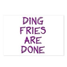 Ding Fries Are Done! Postcards (Package of 8)