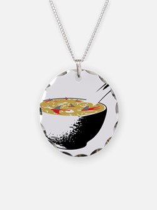 shark fin soup Necklace