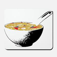 shark fin soup Mousepad