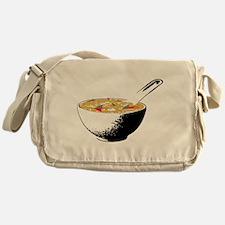 shark fin soup Messenger Bag