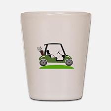 Golf Cart Shot Glass