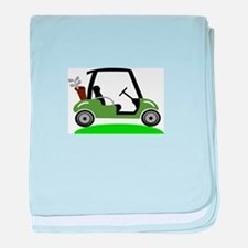 Golf Cart baby blanket