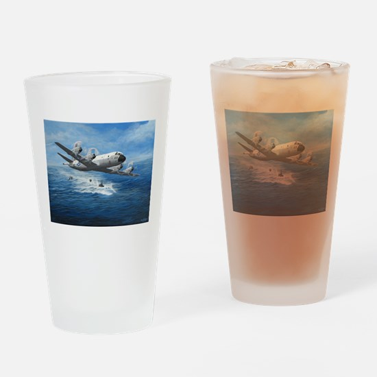 US Navy P-3C Orion Drinking Glass