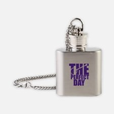 Purple Banjo Flask Necklace