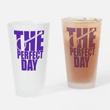 Purple Banjo Drinking Glass