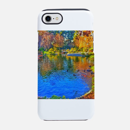 Painted Pond iPhone 8/7 Tough Case