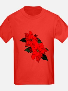 Poinsettias T-Shirt