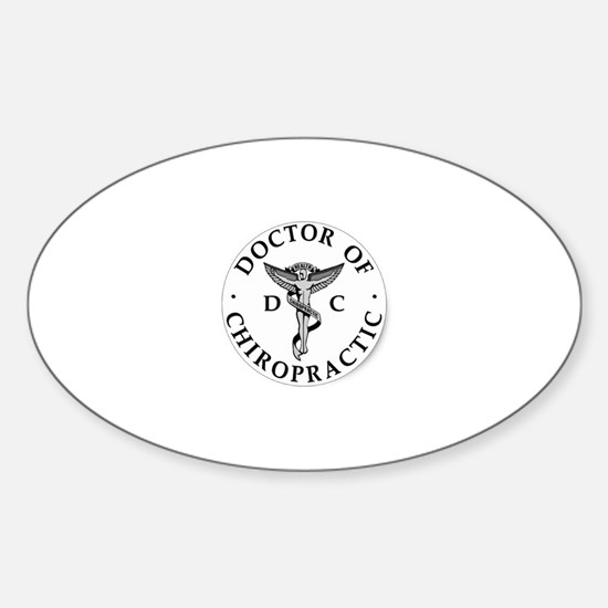 Doctor of Chiropractic Decal