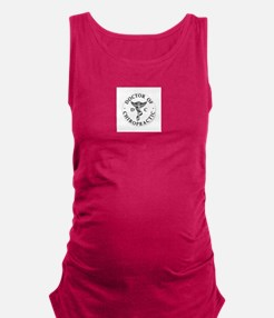 Doctor of Chiropractic Maternity Tank Top