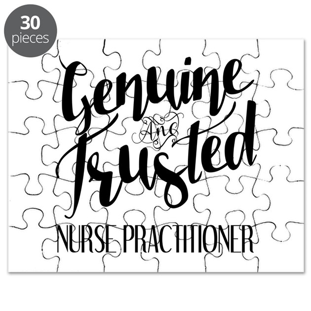 Nurse Practitioner Genuine And Trusted Puzzle By