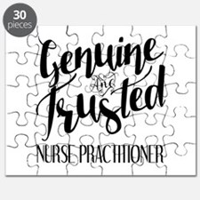 Nurse Practitioner Genuine and Trusted Puzzle