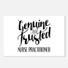 Nurse Practitioner Genuin Postcards (Package of 8)