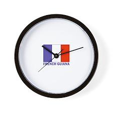 French Guiana Wall Clock