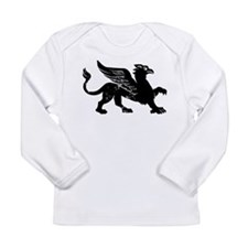 Cute Griffin Long Sleeve Infant T-Shirt