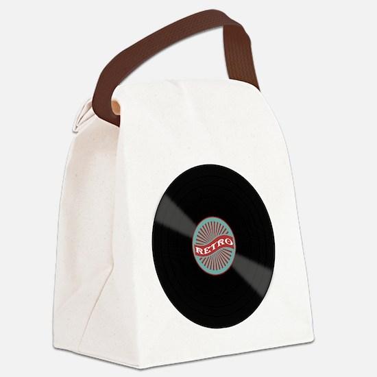 Cute Album Canvas Lunch Bag