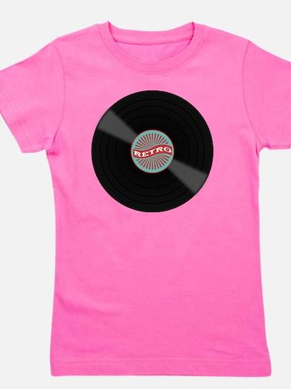 Cute Vinyl Girl's Tee