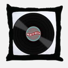 Funny Disc Throw Pillow