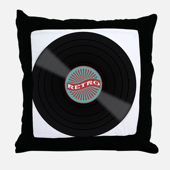 Cute Vinyl Throw Pillow