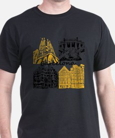 Unique Sagrada familia T-Shirt