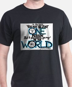 Unique Committed citizens can change the world T-Shirt