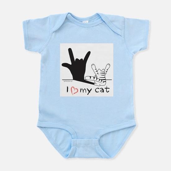 I Love My Cat Body Suit
