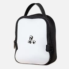 Fitness Dumbbells Neoprene Lunch Bag