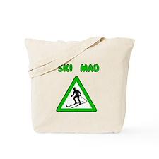 Ski Mad Tote Bag