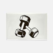Fitness Dumbbells Magnets