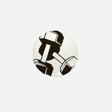 Fitness Dumbbells Mini Button (100 pack)