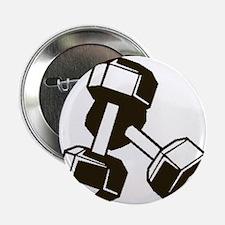 "Fitness Dumbbells 2.25"" Button (100 pack)"