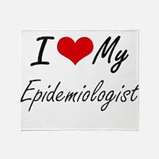 I love my Epidemiologist Throw Blanket
