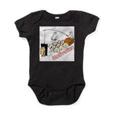 Unique Sled dogs Baby Bodysuit