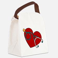 Cute Dr. mom Canvas Lunch Bag