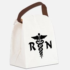 Funny Dr. mom Canvas Lunch Bag