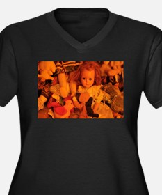 old doll in room of toys Plus Size T-Shirt