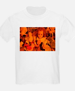 old doll in room of toys T-Shirt